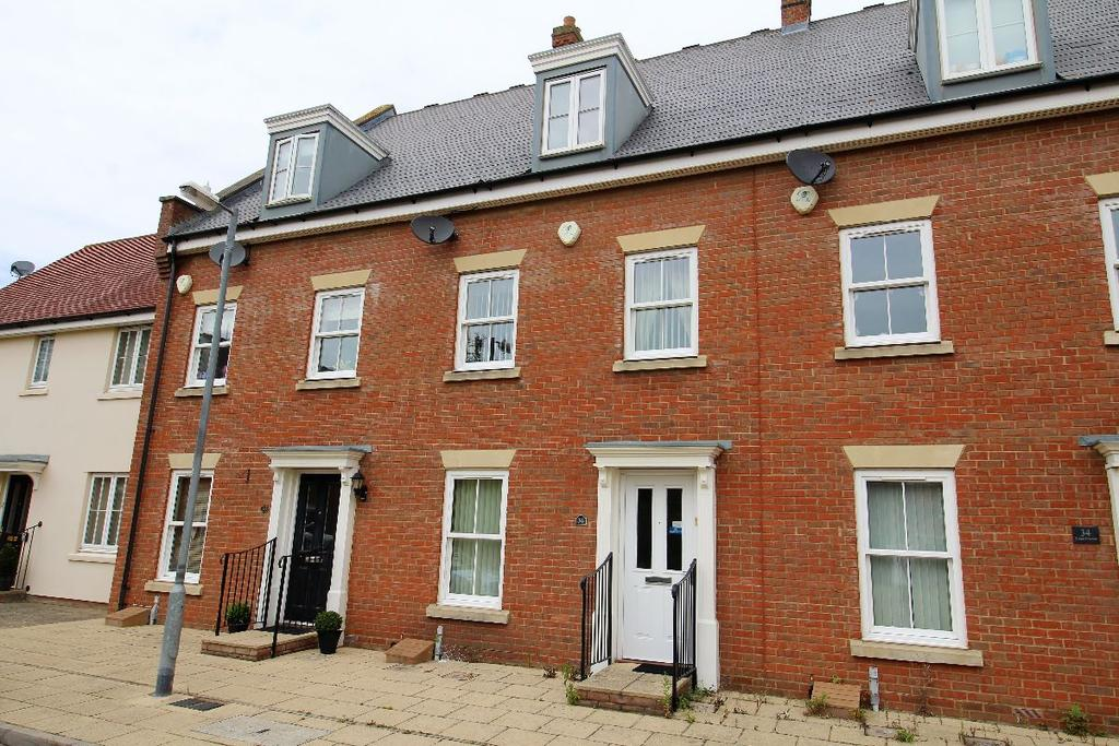 4 Bedrooms Terraced House for sale in Britton Crescent Witham Essex