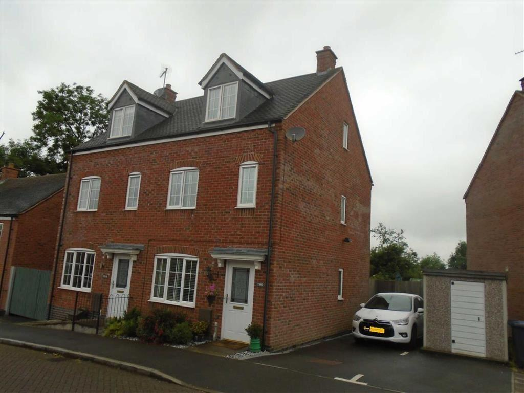3 Bedrooms Semi Detached House for sale in Harvey Close, Barwell, Leicester, Leicestershire, LE9