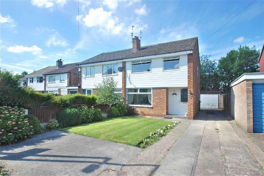 3 Bedrooms Semi Detached House for sale in Romsey Drive, Cheadle Hulme, Stockport