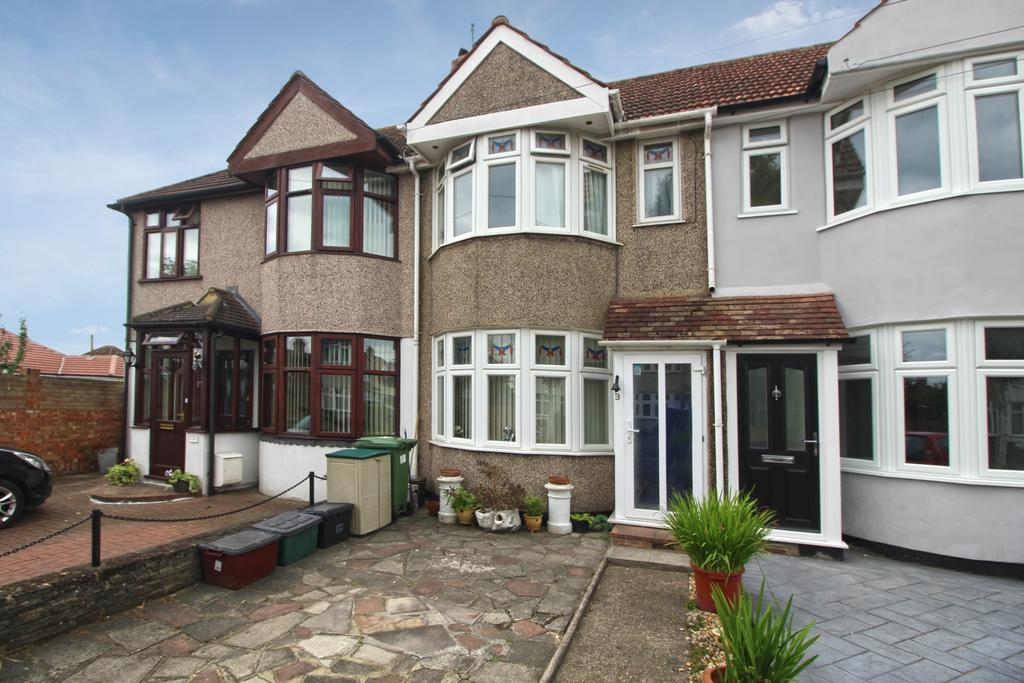 2 Bedrooms Terraced House for sale in Curran Avenue Sidcup DA15