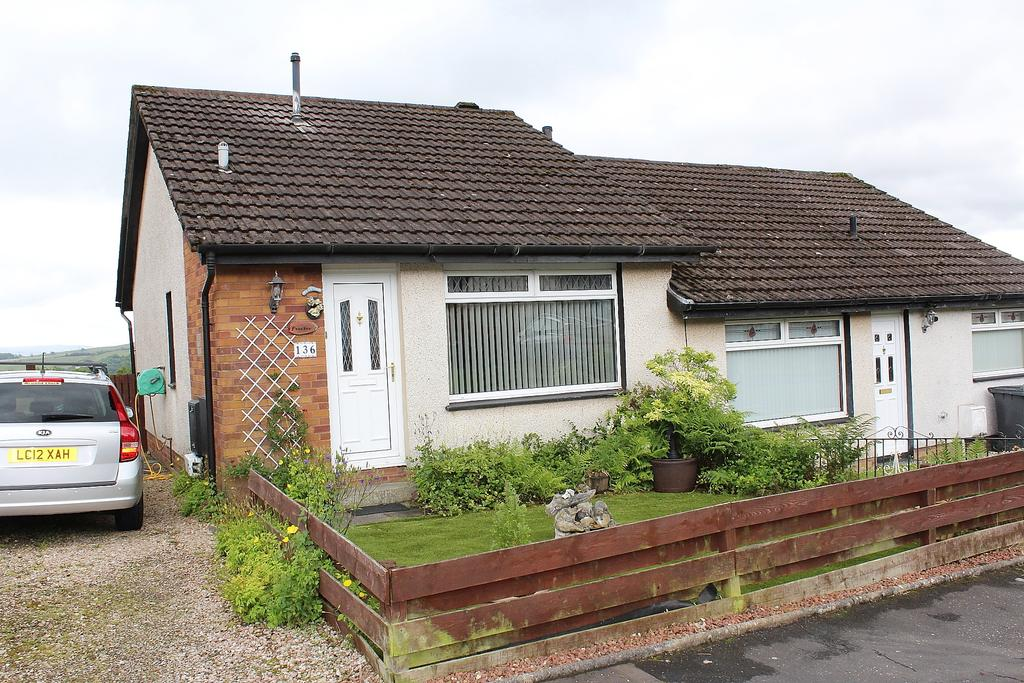 1 Bedroom Semi Detached Bungalow for sale in BEECHWOOD DRIVE, BONHILL G83