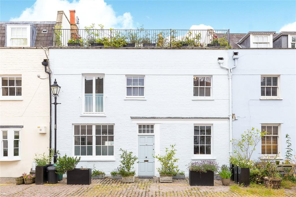 3 Bedrooms Mews House for sale in Napier Place, Holland Park, London