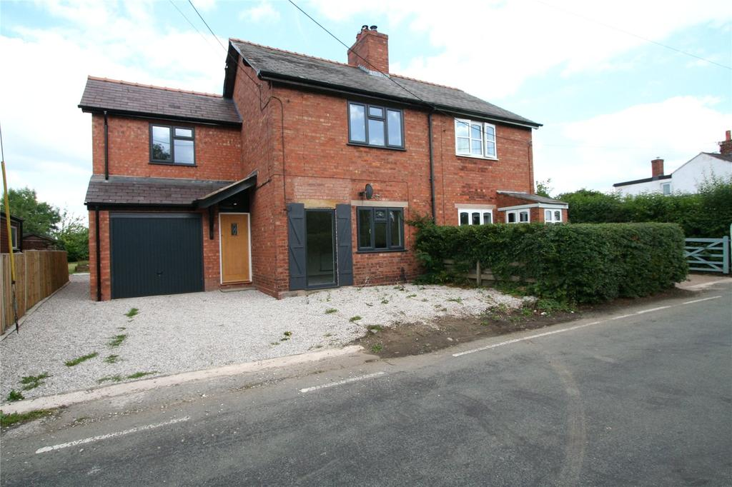 4 Bedrooms Semi Detached House for sale in Harwoods Lane, Rossett, Wrexham, LL12