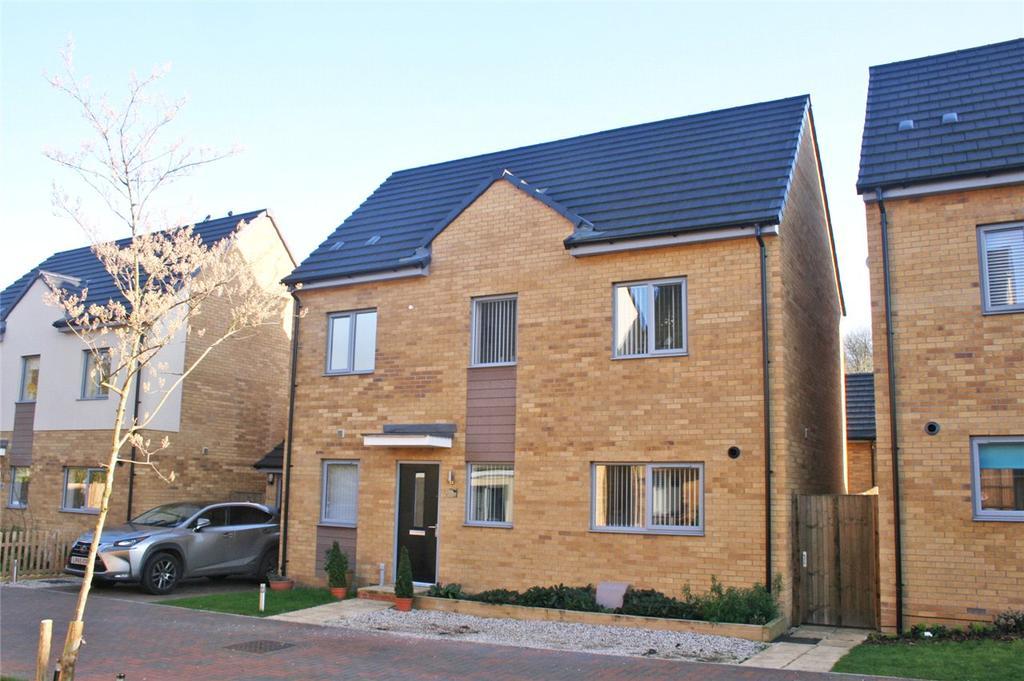 4 Bedrooms Detached House for sale in Brimstone Drive, Stevenage, Hertfordshire