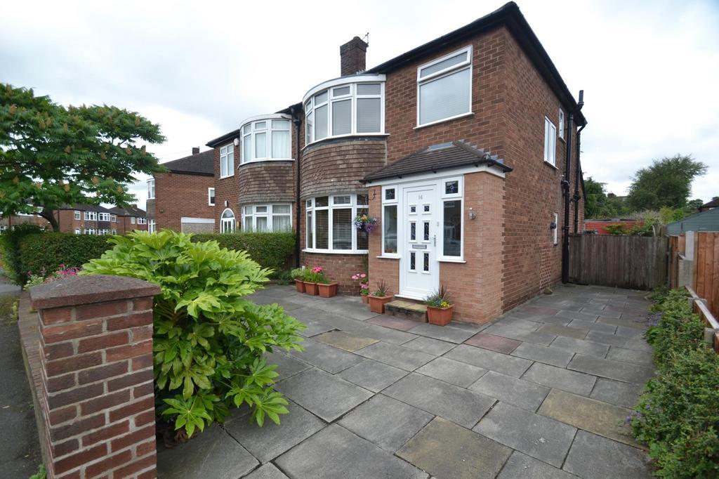 3 Bedrooms Semi Detached House for sale in Okehampton Crescent, Sale