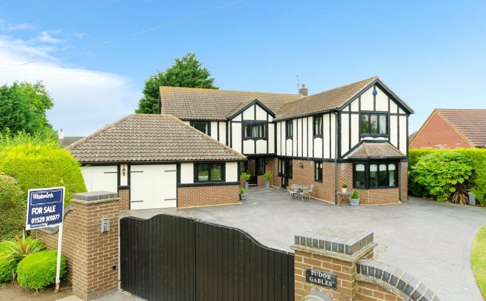 4 Bedrooms Detached House for sale in Thary Lane, Surfleet, Spalding, Lincolnshire, PE11