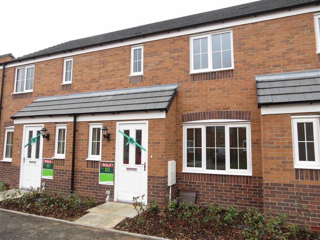 3 Bedrooms Terraced House for sale in Pikeman Avenue, Archery Fields, Shrewsbury, Shropshire