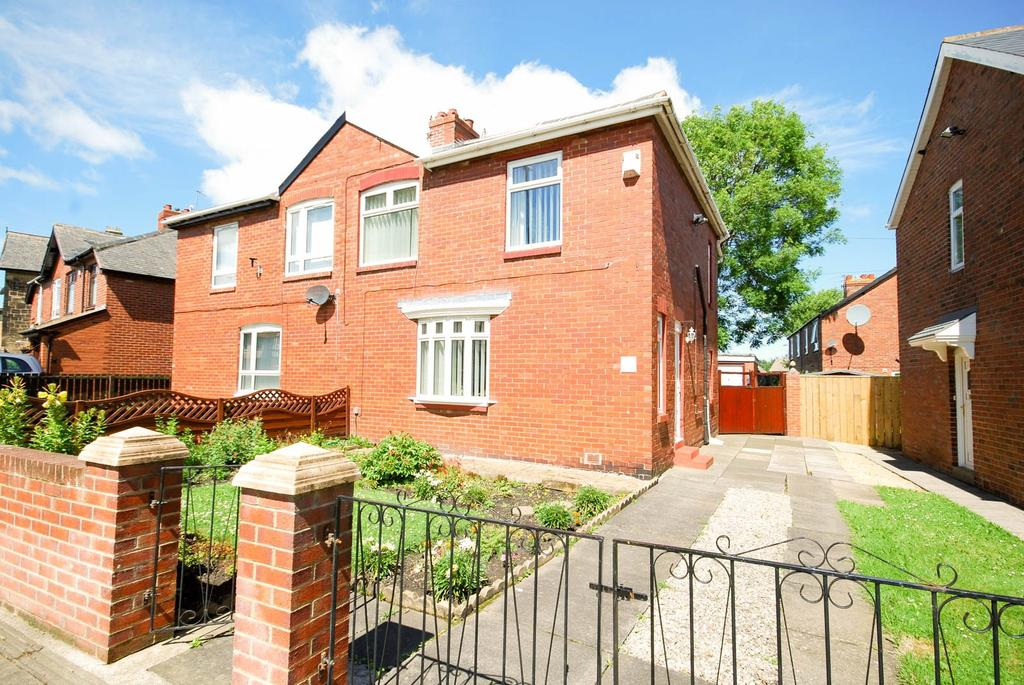 2 Bedrooms Semi Detached House for sale in The Drive, Felling
