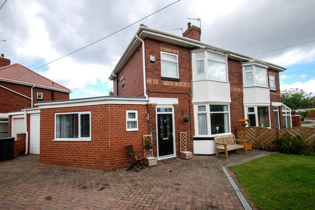 3 Bedrooms Semi Detached House for sale in Page Avenue, South Shields