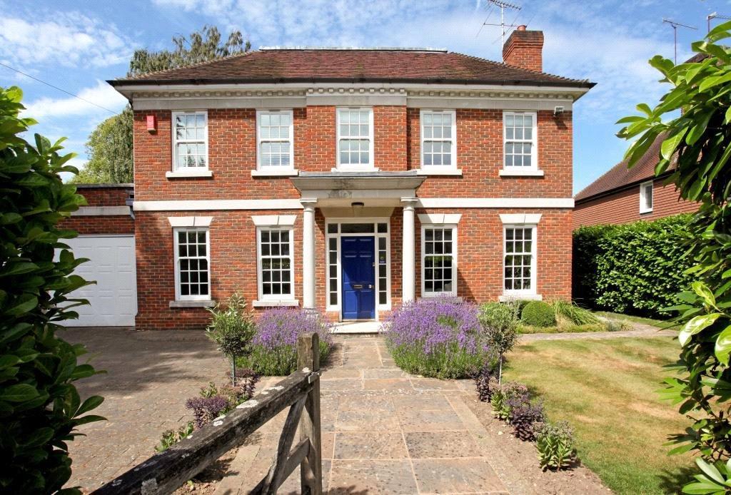 6 Bedrooms Detached House for sale in Monks Road, Virginia Water, Surrey, GU25