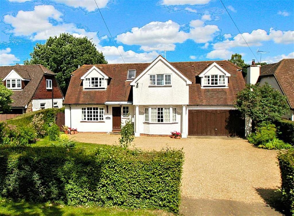 4 Bedrooms Detached House for sale in Pottersheath Road, Welwyn
