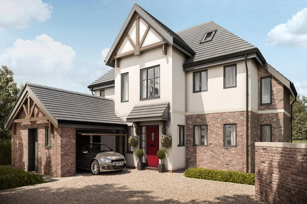 5 Bedrooms Detached House for sale in Stretton, Warrington