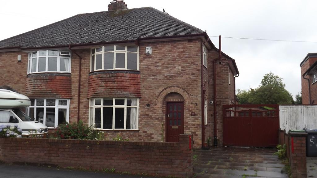 3 Bedrooms Semi Detached House for sale in Victoria Avenue, Grappenhall