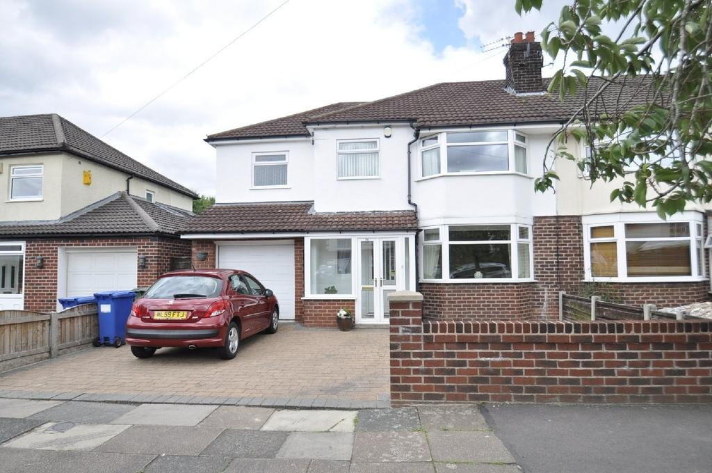 4 Bedrooms Semi Detached House for sale in Highfield Road, Cheadle Hulme