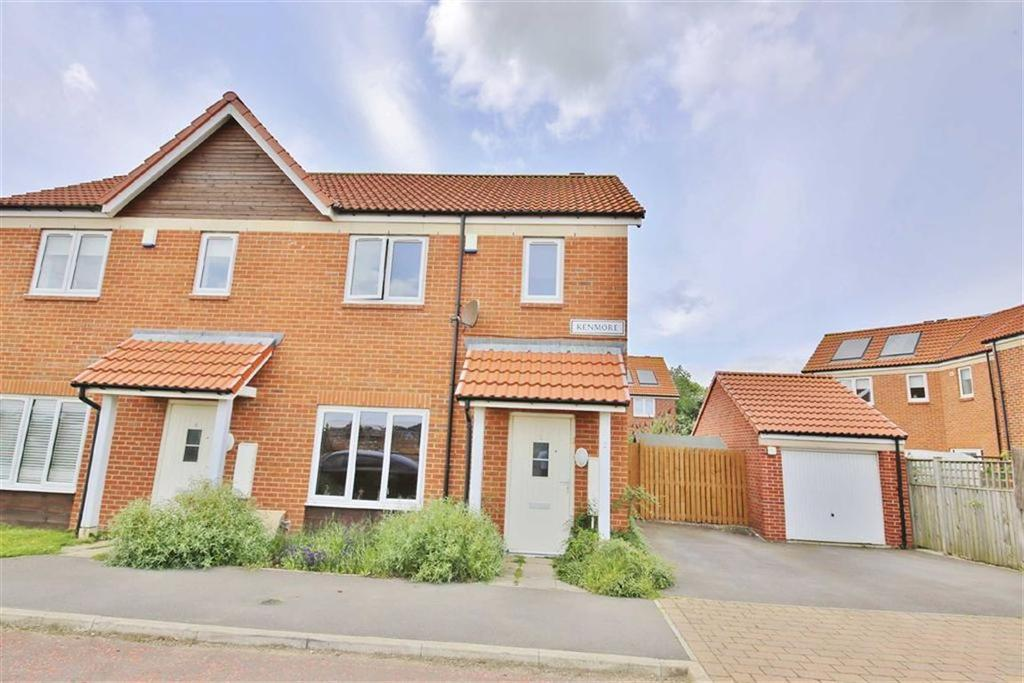 2 Bedrooms Semi Detached House for sale in Kenmore, Doxford, Sunderland, SR3
