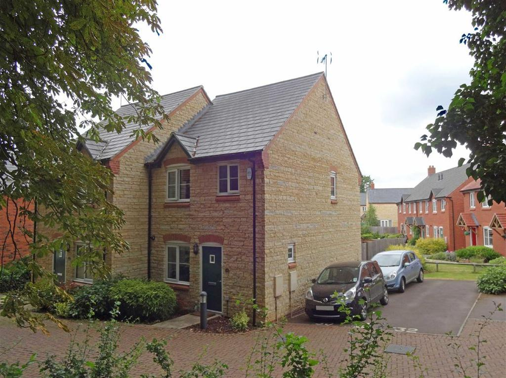 3 Bedrooms Semi Detached House for sale in Lime Kiln Close, Silverstone