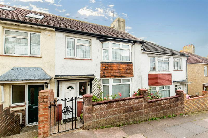 3 Bedrooms Terraced House for sale in Carlyle Avenue, Brighton