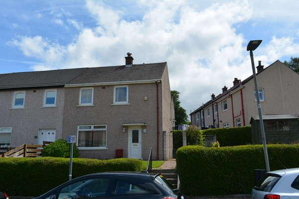 2 Bedrooms End Of Terrace House for sale in 95 Carrick Road, Rutherglen, Glasgow, G73 4PJ