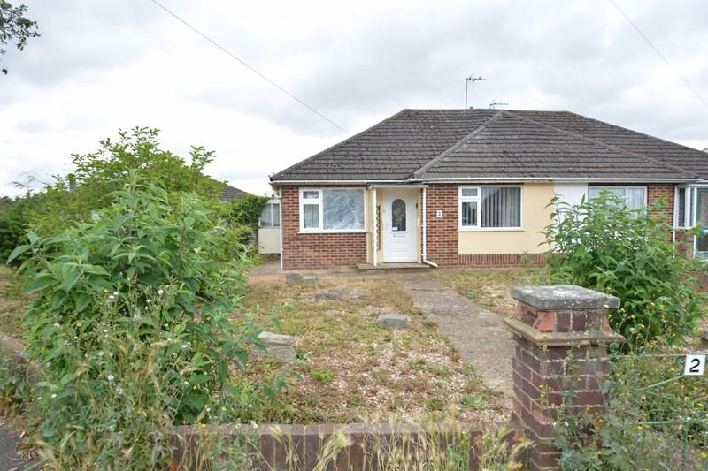 2 Bedrooms Semi Detached Bungalow for sale in Shakespeare Avenue, Andover