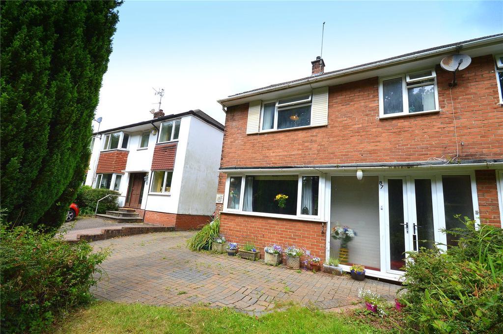 4 Bedrooms Semi Detached House for sale in Gwernrhuddi Road, Cyncoed, Cardiff, CF23