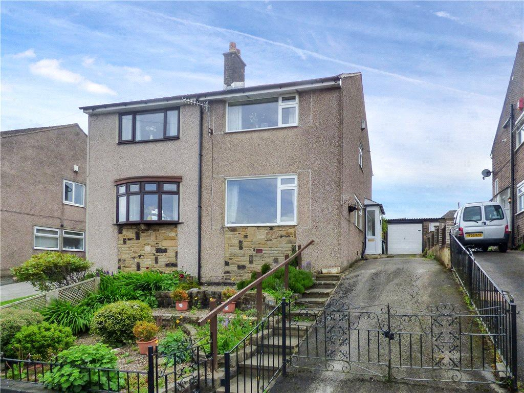 3 Bedrooms Semi Detached House for sale in Wheathead Lane, Keighley, West Yorkshire