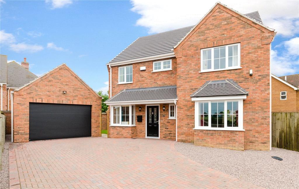 5 Bedrooms Detached House for sale in Leasingham Lane, Ruskington, Sleaford, Lincolnshire, NG34