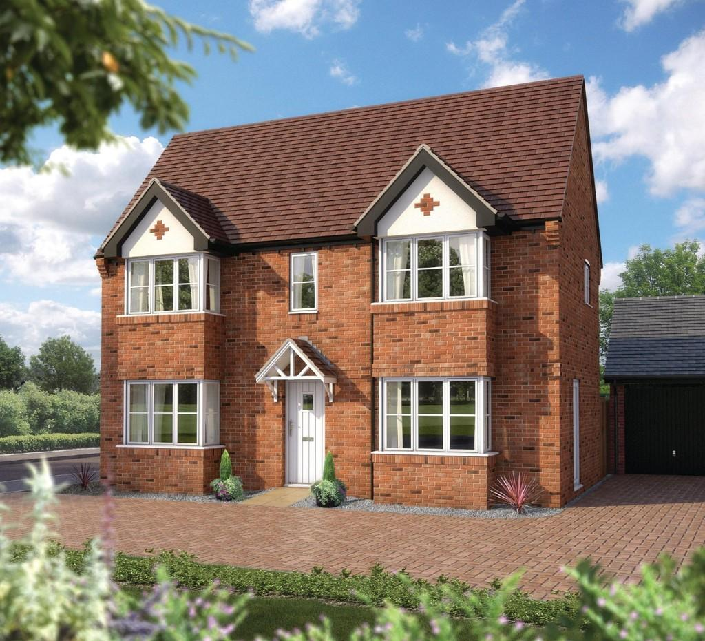 3 Bedrooms Detached House for sale in Plots 75, 76 117 The Loxley, Stratford Leys