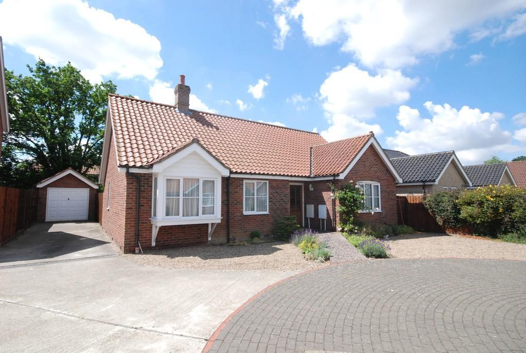 3 Bedrooms Detached Bungalow for sale in Bishops Close, Hethersett