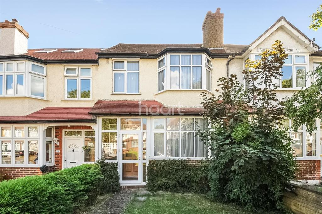 3 Bedrooms Terraced House for sale in Stoneleigh Avenue, Worcester Park, Surrey, KT4