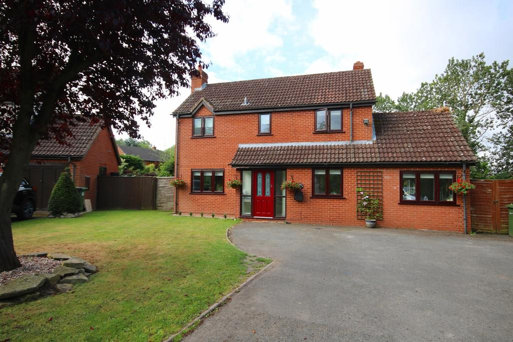 3 Bedrooms Detached House for sale in Lower Eggleton, Ledbury, HR8