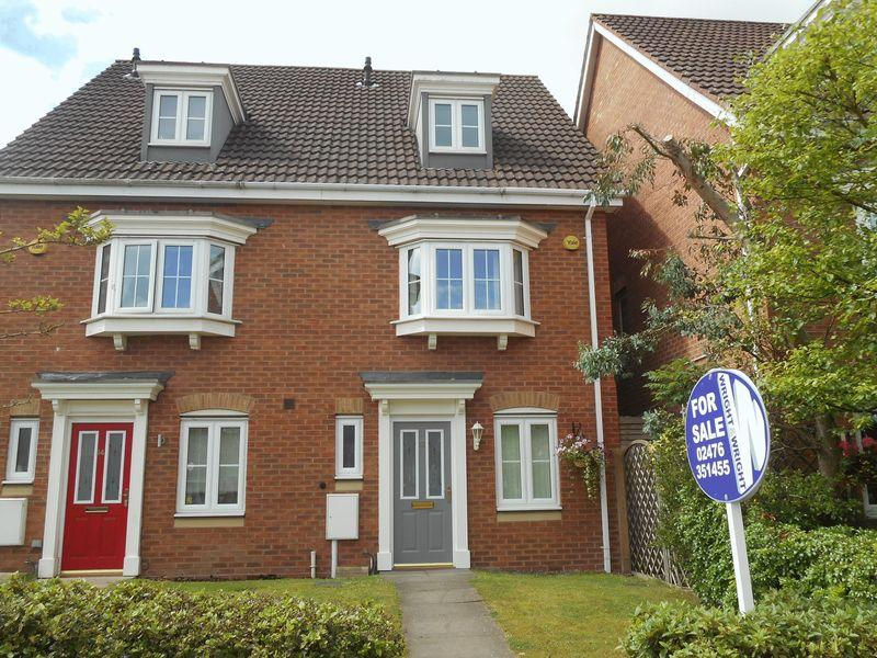 3 Bedrooms Mews House for sale in Waggestaff Drive, Nuneaton