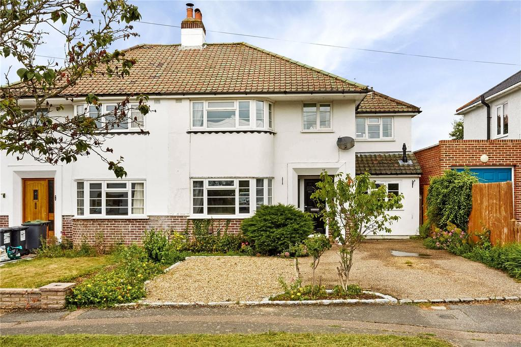 4 Bedrooms Semi Detached House for sale in Hilden Avenue, Hildenborough, Tonbridge, Kent, TN11