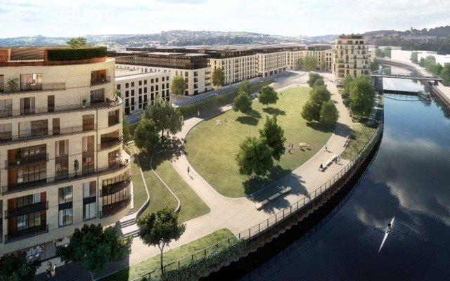 2 Bedrooms Flat for sale in Apartment 4301, Royal View, Bath Riverside, Bath, BA2
