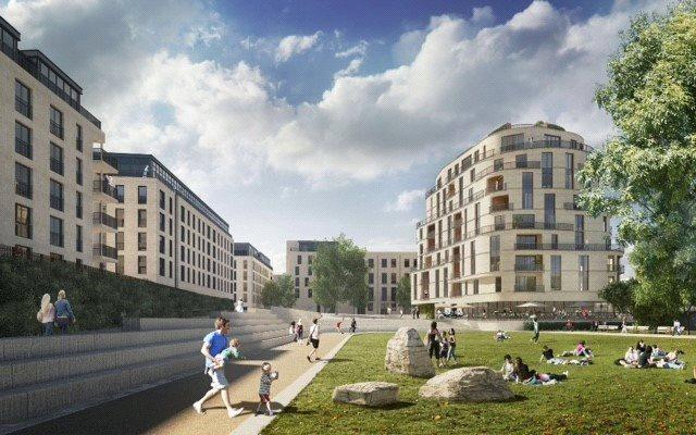2 Bedrooms Flat for sale in Apartment 4302, Royal View, Bath Riverside, Bath, BA2