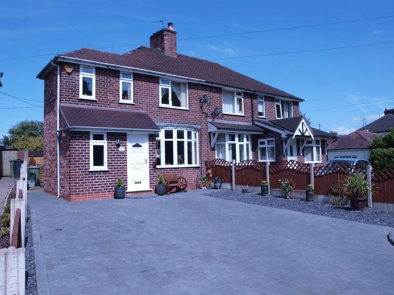 3 Bedrooms Semi Detached House for sale in Hough Lane, Anderton, CW9 6AB