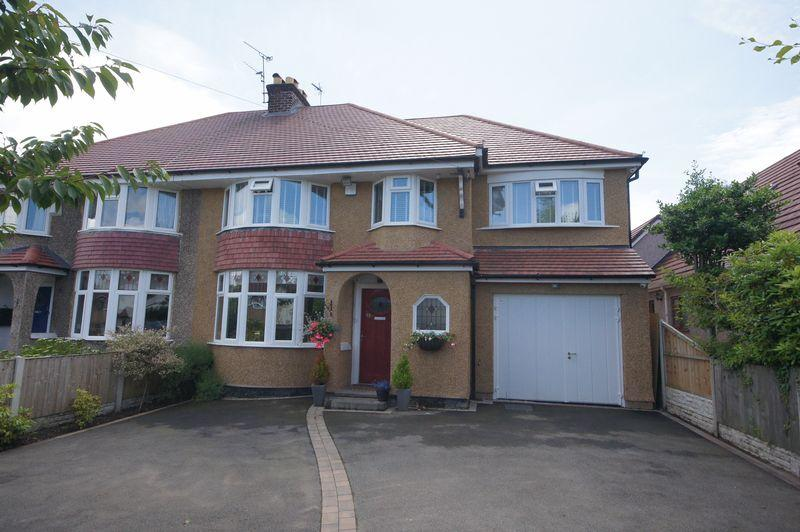 4 Bedrooms Semi Detached House for sale in Irby Road, Heswall