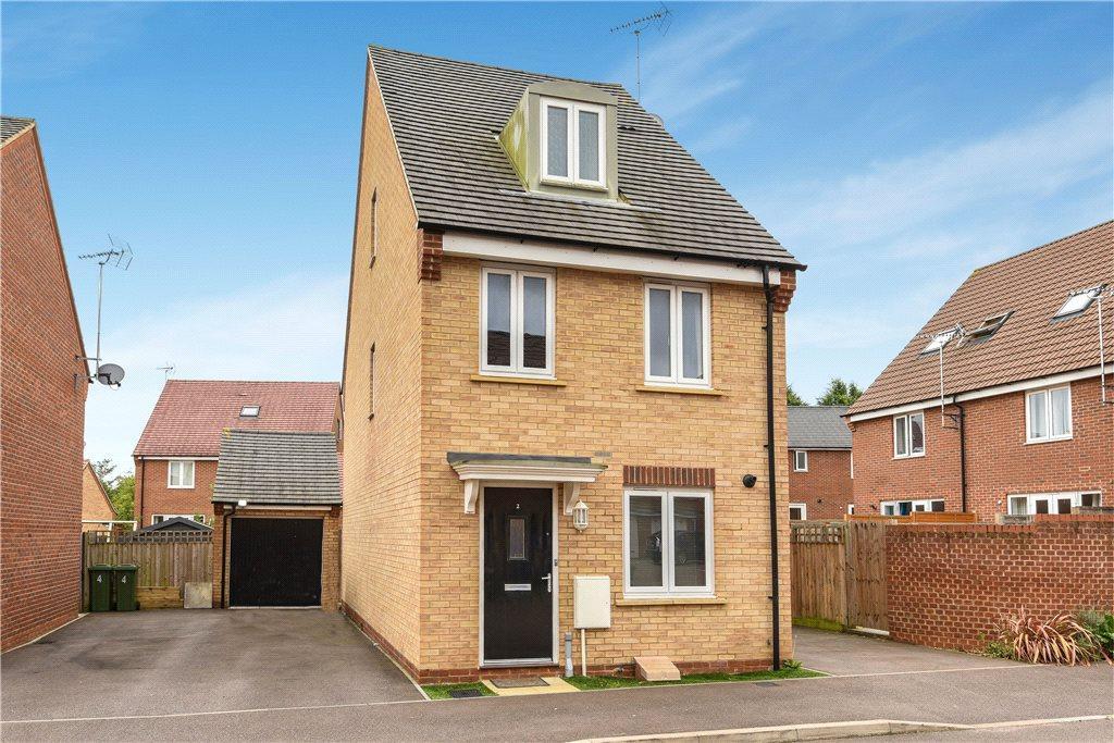 3 Bedrooms Detached House for sale in Kay Grove, Oakridge Park, Milton Keynes, Buckinghamshire