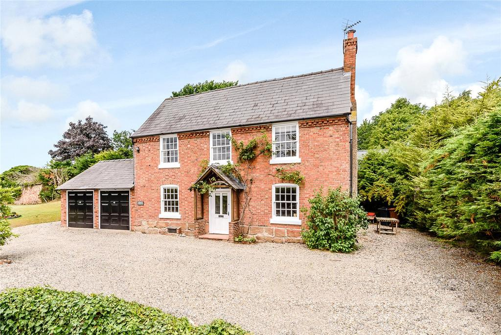 5 Bedrooms Detached House for sale in Eardiston, West Felton, Oswestry, Shropshire