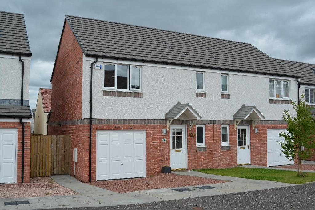 3 Bedrooms Semi Detached House for sale in Rankin Drive, Larbert, Falkirk, FK2 8RF