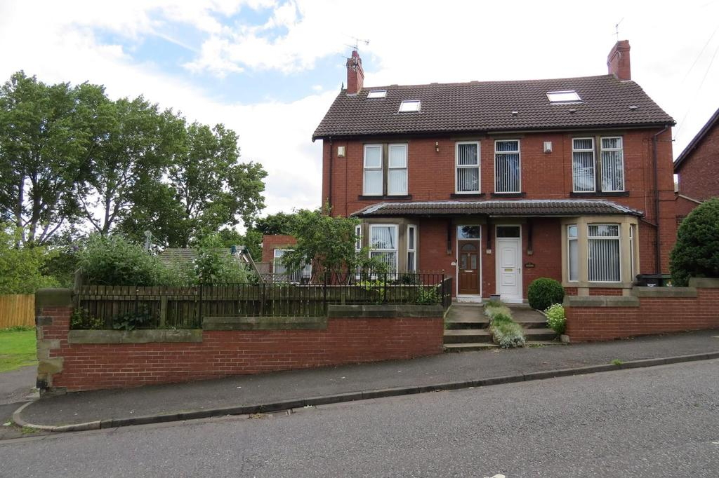 4 Bedrooms Semi Detached House for sale in Sheepwash Bank, Guidepost, Choppington