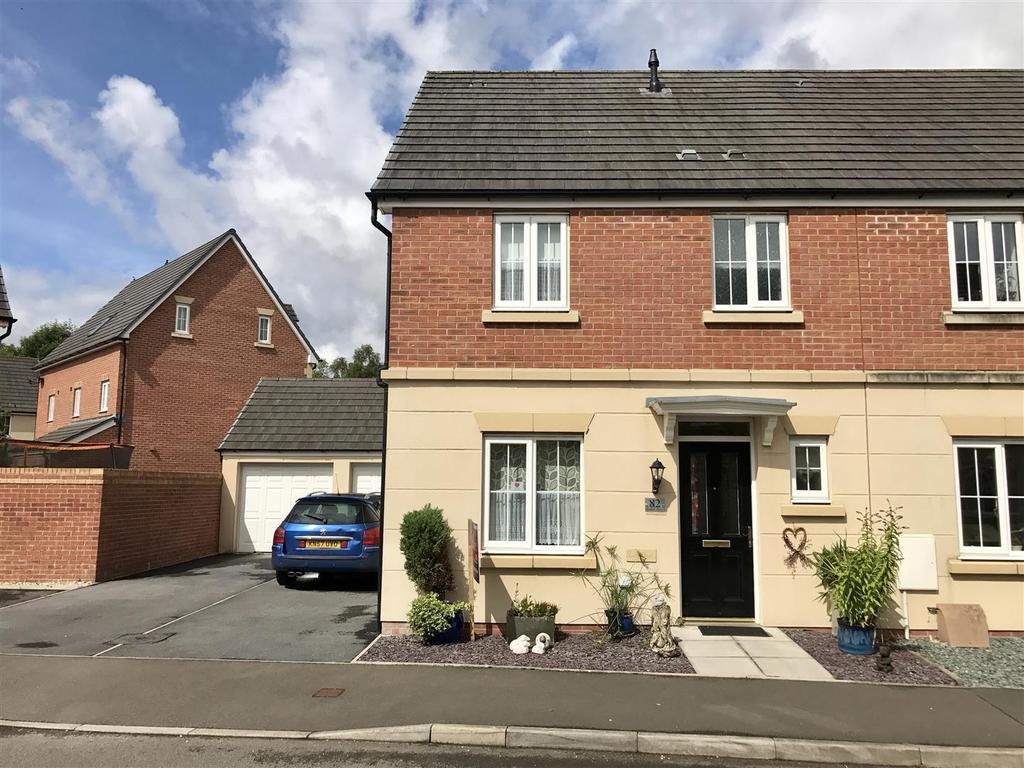 3 Bedrooms Semi Detached House for sale in Ffordd Y Glowyr, Betws, Ammanford