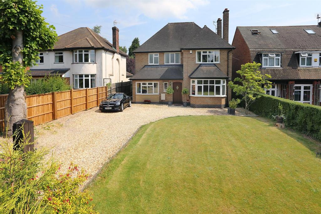 4 Bedrooms Detached House for sale in The Bulrushes, Leicester Road, Markfield