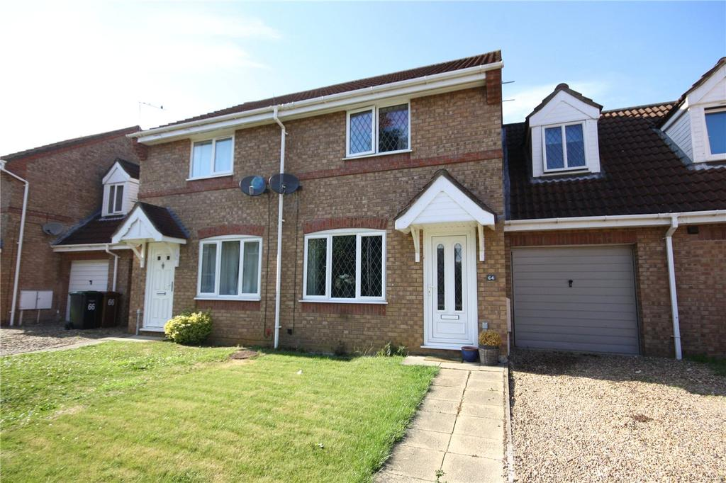 3 Bedrooms Semi Detached House for sale in Winchester Way, Sleaford, Lincolnshire, NG34