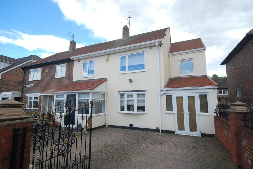 3 Bedrooms Semi Detached House for sale in Ushaw Road, Hebburn