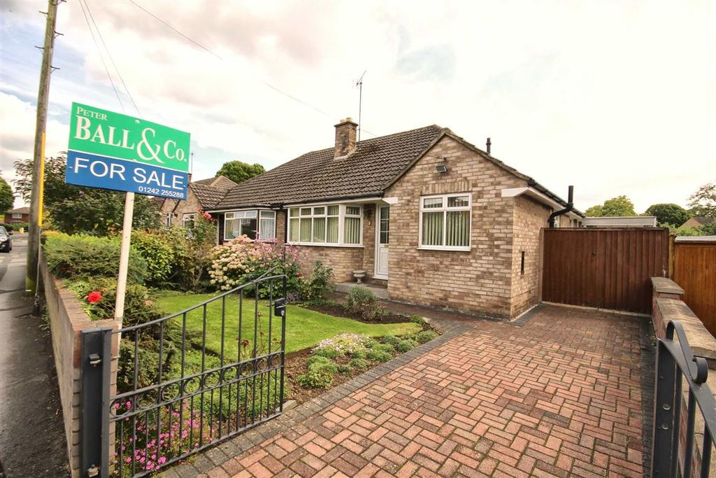 3 Bedrooms Semi Detached Bungalow for sale in Hatherley Lane, Hatherley, Cheltenham, GL51