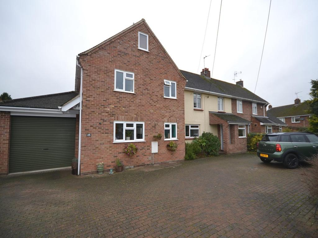 5 Bedrooms Semi Detached House for sale in Ravens Crescent, Felsted, Dunmow, Essex, CM6