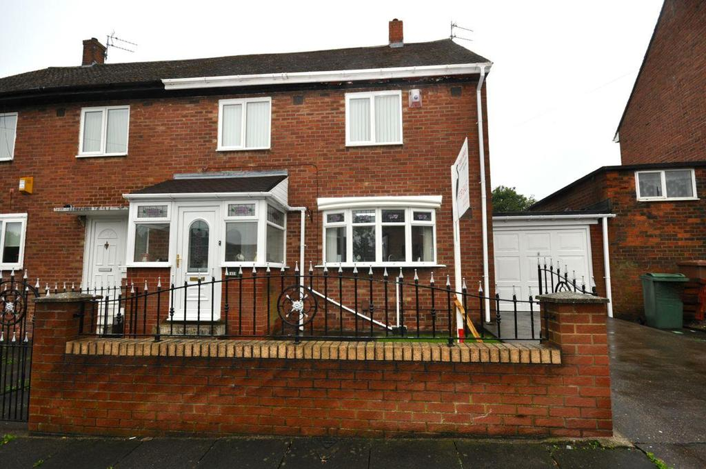 3 Bedrooms Semi Detached House for sale in Toronto Road, Thorney Close, Sunderland