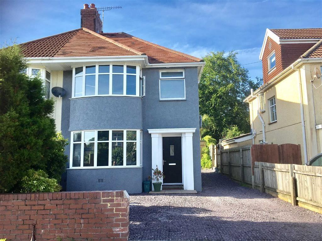3 Bedrooms Semi Detached House for sale in Harlech Crescent, Swansea, SA2