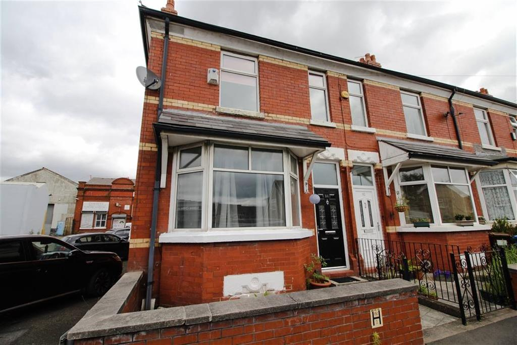 2 Bedrooms End Of Terrace House for sale in Station Road, Reddish, Stockport