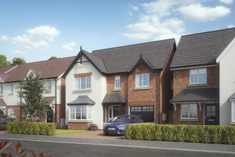 4 Bedrooms Detached House for sale in Plot 10, The Rippon, Kings Vale, Baschurch, SY4 2DP